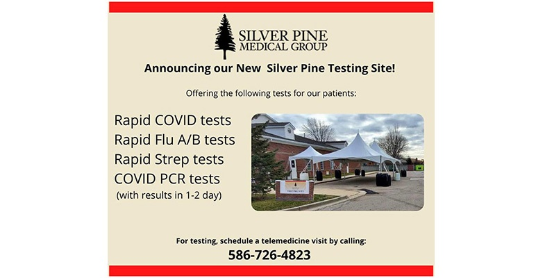 New Silver Pine Testing Site